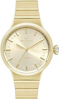 Relógio Technos Feminino Crystal Dourado 2036MJT4X