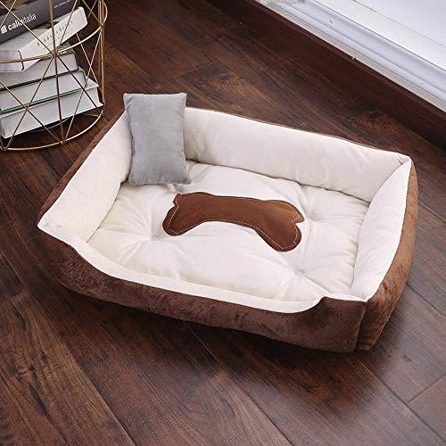 Hundekissen Hundematte Hundebett Warm 图标 下载 App Warm Bone Haustier Hunde Bett Waschbar Haus Katze Welpe Baumwolle Zwinger Matte Soft Nest Hundekörbe Haustier Produkte Für Kleine M