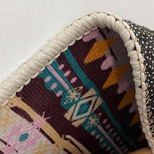 AJMINI Moderno Indoor Home Soggiorno Tappeto Tappeto Anti-Skid Grande Zona Fuzzy Tappeti Fluffy Soft Room Bambini Tappeto Bambini Camera da Letto Tappeto Decorativo (Size : 80x160cm)