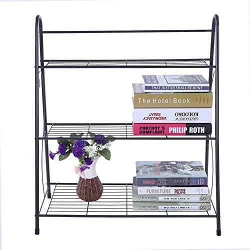 Estante para zapatos, estante para almacenamiento de zapatos, organizador de zapatos ordenado de hierro de 3 niveles, soporte para estante, soporte para exhibición de macetas para plantas de cultivo