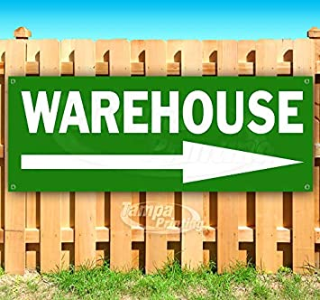 Non-Fabric Warehouse 13 oz Banner Heavy-Duty Vinyl Single-Sided with Metal Grommets