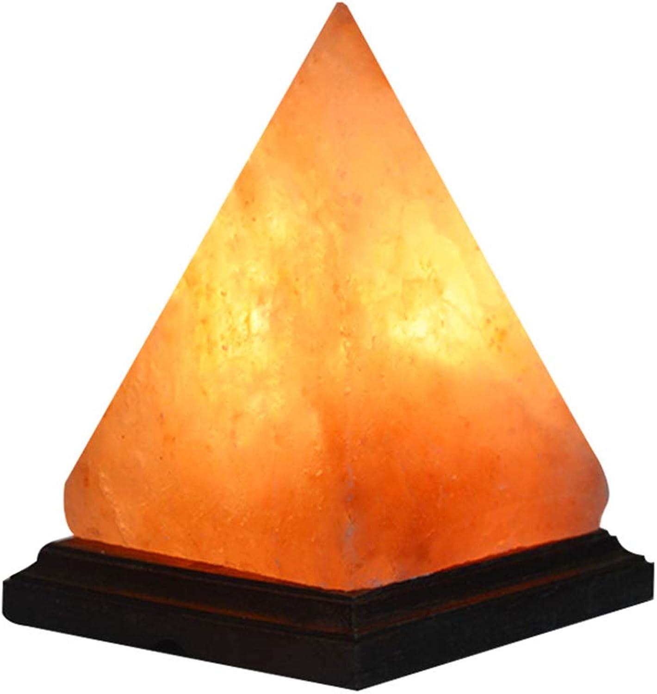 Pyramidendesign Kristalldekrempel mit mit mit Rosanholzbasis Natürliche Himalaya-Salzlampe mit Dimmabable Switch B07KR789NH | Zürich Online Shop  21ee15