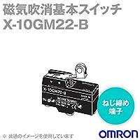 オムロン(OMRON) X-10GM22-B 磁気吹消基本スイッチXシリーズ (逆動作ヒンジ・ローラ・レバー形) NN