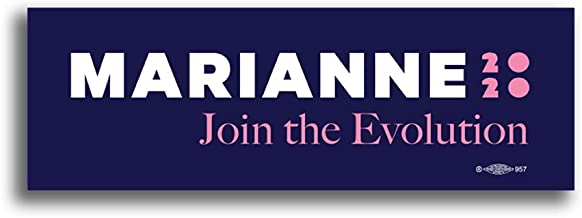Official Marianne 2020 Bumper Sticker - Join The Evolution