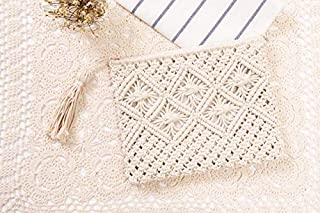 iBag's new Knitted Women Envelope Hasp Beach Bag Clutch Elegant Female Braided Handbag Envelope Hasp Beach Bag For Ladies