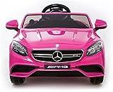 Mercedes S63 AMG Voiture-jouet électrique pour enfant, DEUX MOTEURS, licence...