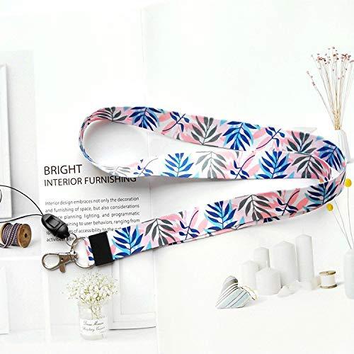 Cordón Correa Para El Cuello con alta calidad, impresión a doble cara en a todo color y ideal para funda para ID Badge Keys MP3USB soporte, color Colorful wave