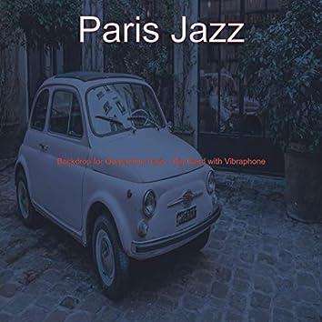 Backdrop for Quarantine Paris - Big Band with Vibraphone