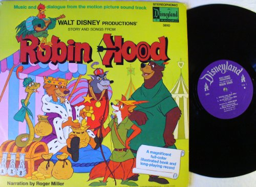 walt disney robin hood soundtrack - 4