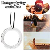 Makaor Fun Photography Toy,Chandelier Glass Crystals Handing Ring, Lamp Prisms Parts Drops...