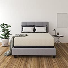 "Queen size bed in a box: For deep sleep you've always dreamed of, this body contouring memory foam mattress delivers; 12"" mattress comes compressed and rolled in a box for your convenience Sleep soundly: Designed with layers of memory foam for firm s..."