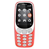 Nokia 3310 TA-1036 Unlocked GSM 3G (At&T Tmobile Metro PCS Mint Latin Caribbean) - Warm Red
