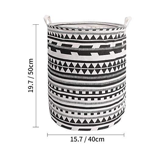 ZYC-Lighting Cesta de lavandería Plegable Grande Caja de Almacenamiento Barril Ropa de Juguete Cubo de Almacenamiento Organizador de lavandería Soporte Bolsa Bolsa de Almacenamiento doméstico