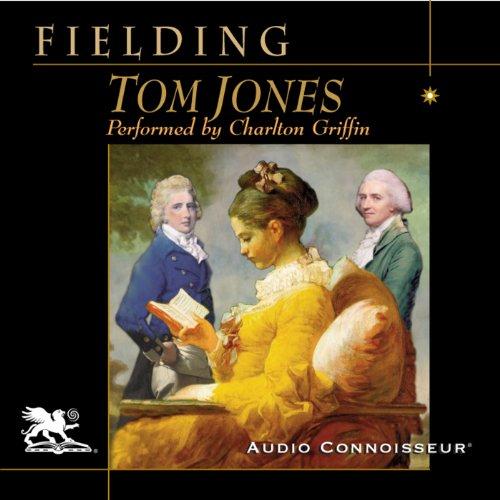 Tom Jones audiobook cover art