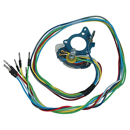 Turn Signal Switch with Wiring 1969-72 F100, F250, F350 F-Series Pickup From Serial Number G30,001 (D0TZ-13341R)