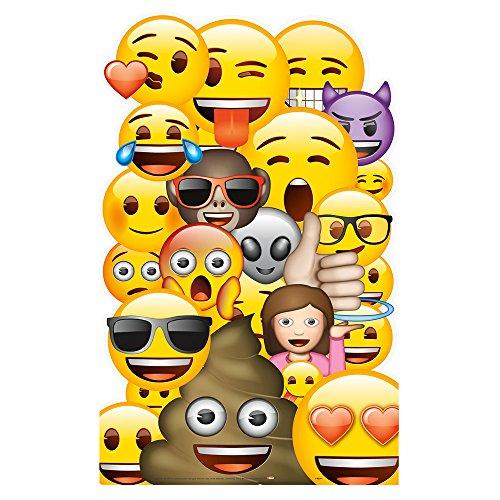 Unique Party 50643 - Large Emoji Cut Out Decoration
