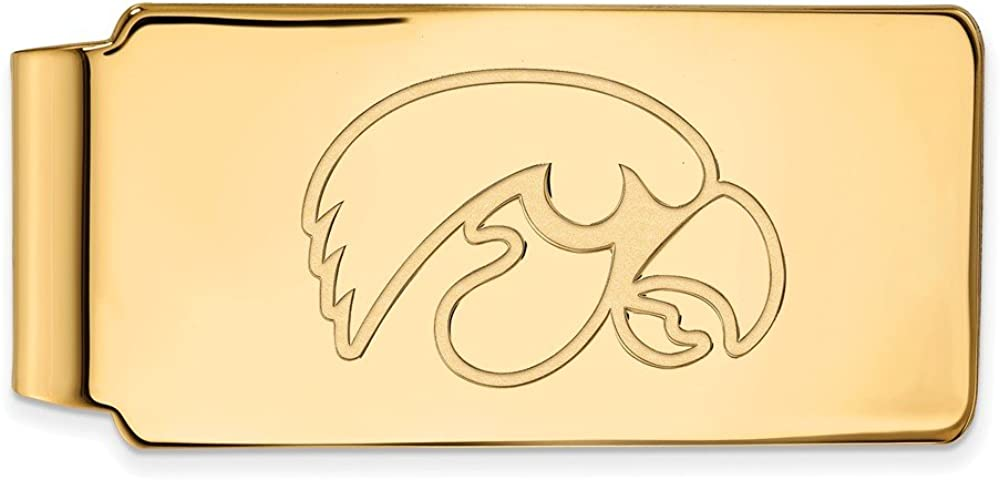 Solid 10k Yellow Gold Official University Business of Limited price Washington Mall sale Iowa Slim
