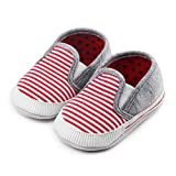 Save Beautiful Toddler Baby Girls Boys Shoes Infant First Walkers Sneakers (6-12 Months Infant, I-red)