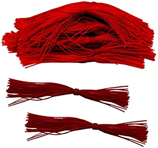 Strike King Lures 50-69 Bulk Skirts, Red Shad, Package of 50