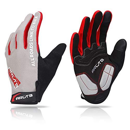 Arltb Bike Gloves Bicycle Cycling Biking Gloves Mitts Full Finger...