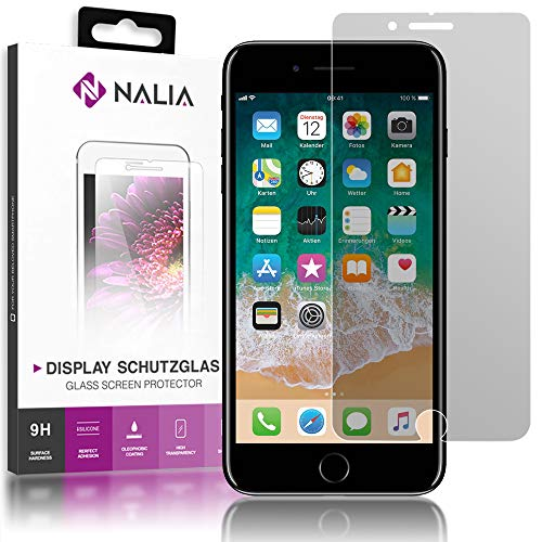 NALIA Sicht-Schutzglas kompatibel mit iPhone SE 2020/8 / 7 Glas, Anti-Spy Blickschutz Privacy Filter Handy Bildschirmschutz-Folie, 9H Full-Cover Bildschirm-Schutz Display-Abdeckung Screen-Protector