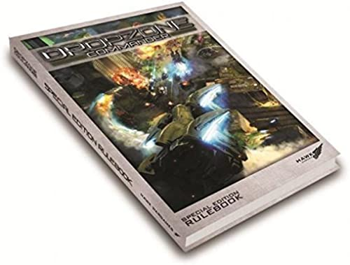 tienda en linea Dropzone Commander Special Edition Rulebook Hardcover [Limited to to to 1500] by Dropzone Commander - Core & Assorted 10mm  ¡no ser extrañado!
