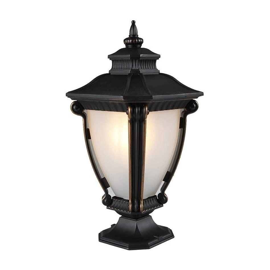 製油所思いやりのある貞LEOO ビルダーキャストアルミ屋外ポスト照明 - ロビー、中庭、バルコニー、ドックヤードのための屋外照明器具。照明用アクセサリー