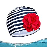 Cuffie per Bambini Cuffia Piscina Bambini per Capelli Lunghi Cuffia da Nuoto per Bambini Nuoto Cappello Cuffia da Bagno per Bambini Ragazzi e Ragazze Cuffie da Bagno Impermeabili per Bambini