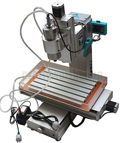 Amazing Deal 3 Axis Column Type Engraving Machine High-pricision Ball Screw DIY Metal Wood CNC 3040 ...