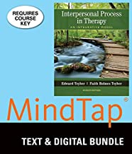 Bundle: Interpersonal Process in Therapy: An Integrative Model, Loose-leaf Version, 7th + MindTap Counseling, 1 term (6 months) Printed Access Card