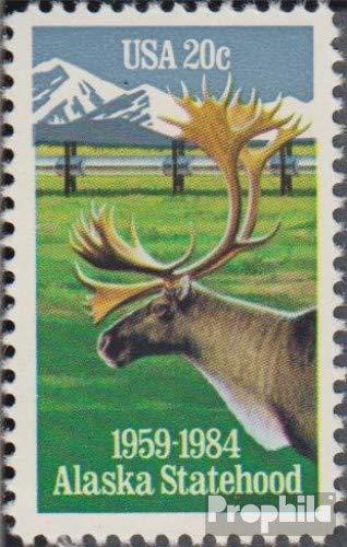 Prophila Collection USA 1670 (kompl.Ausg.) 1984 Staat Alaska (Briefmarken für Sammler) Säuger Sonstige