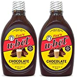 Fox's U-Bet Original Chocolate Flavor Syrup, 22 Oz, (Pack Of 2)...