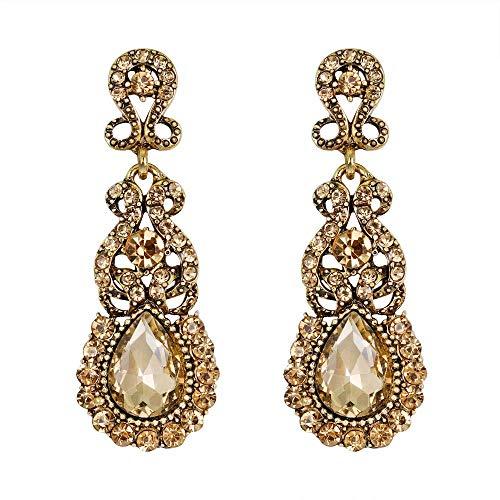 Pendientes de mujer, pendientes de estilo creativo europeo y americano, pendientes nuevos de moda, imprescindibles para la gente de moda.