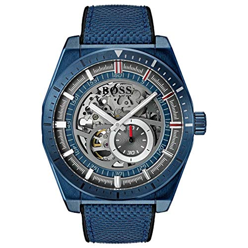 Boss Signature Timepiece Collection Skeleton 1513645 Herren Automatikuhr