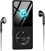 $23 » Aigital Music Player MP3 Built-in 8GB Memory 1.8'' HD Screen HiFi Lossless Sound MP3 Video Player with FM Radio/E-Book/Game, Support Up to 128GB - Black (Include Earphones)