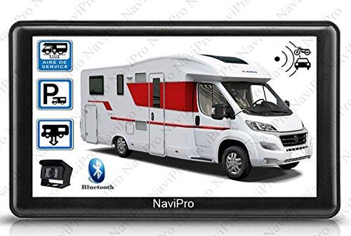 """NaviPro - GPS camping-car 7"""" + caméra de recul sans fil"""