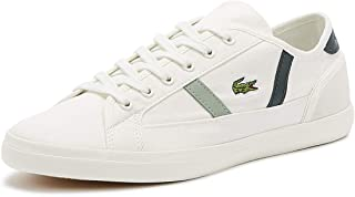 Lacoste Sideline 319 2 Womens Off White/Dark Green Trainers