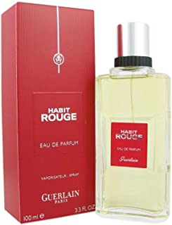 Habit Rouge by Guerlain for Men Eau de Parfum -100ml