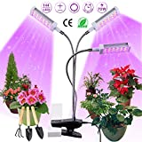 Plant Light, Semai 3-Head Plant Lamp for Indoor Plant, Full Spectrum Grow Light
