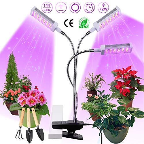 günstig LED Pflanzenlichter, Pflanzenlichter, 72W Pflanzenlichter, 144 LED Pflanzenlichter,… Vergleich im Deutschland