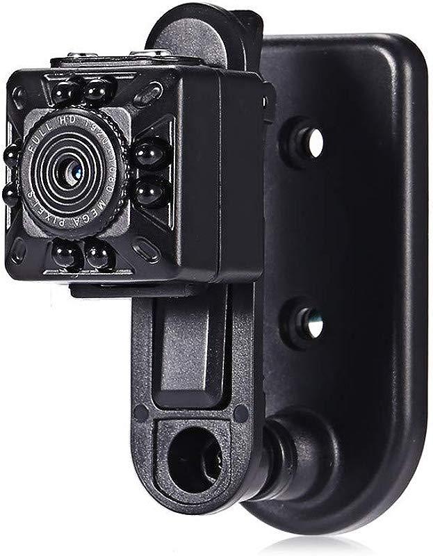 KUNAW Full HD 1080P Mini Car DV DVR Camera Camcorder IR Night Vision TR Home Surveillance Monitor For Baby Pet Elder