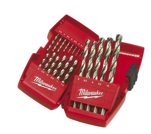Milwaukee HSS-G Metallbohrer 4932352374 19 teilig Kassette, 1 Stück