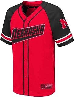 nebraska baseball jersey