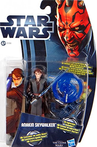 Hasbro Anakin Skywalker with Lightsaber Launcher CW1 Star Wars - The Clone Wars 2012
