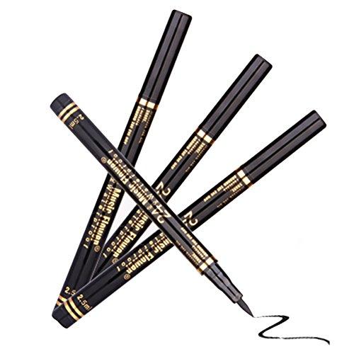 Music Flower Delineadores de Ojos Líquido Lápices Negro de Maquillaje para Ojos Permanentes Delineador de Ojos