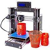 GIMIGO A8 Desktop DIY 3D Drucker Prusa I3 3D Drucker Kit 1.75mm PLA ABS Filament LCD Bildschirm USB 3D Printer Kit