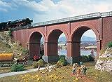 VOLLMER 42513 - H0 1:87 - Sotto passaggio ponte ferroviario a 3 archi 30.3 x 6.5 x 12.6 cm