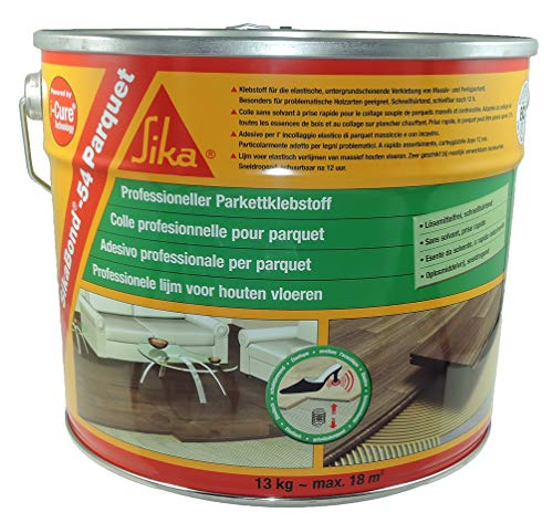 Sika 421469 sikabond-54 spatulable lijm polyurethaan voor parket 13 kg