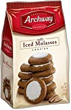 Archway Iced Molasses Cookies, 12 Ounce (Pack of 4)