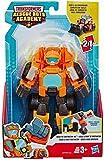Transformers Playskool Heroes Rescue Bots Wedge, der Baustellen-Bot, verwandelbarer Spielzeug-Roboter, 15 cm Action-Figur zum Sammeln, Spielzeug für Kinder ab 3 Jahren